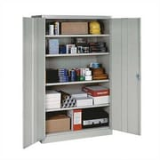 Penco E-Z Bilt 2 Door Storage Cabinet; Gray