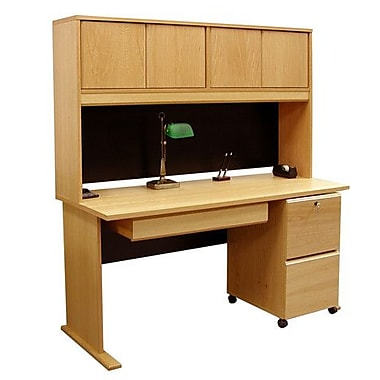 Rush Furniture Office Modulars Standard Computer Desk Draw Staples