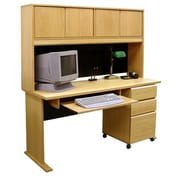 Rush Furniture Office Modulars Standard Computer Desk; Keyboard Shelf