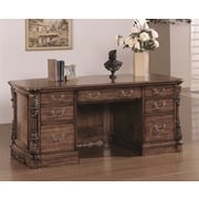 Wildon Home   Angelina Executive Desk