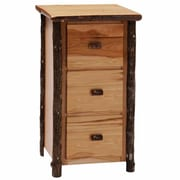 Fireside Lodge Hickory 3-Drawer File Cabinet; Espresso