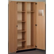 Stevens ID Systems Science 36'' Instructor Storage Cabinet; Natural Oak