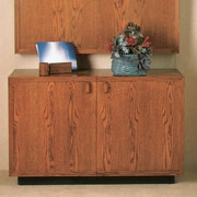 Claridge Products 2 Door Credenza; Mahogany Stained