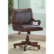 Wildon Home   Angelina Mid-Back Leather Executive Office Chair
