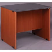 Stevens ID Systems Library Computer Desk; Light Oak