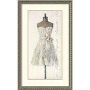 Amanti Art 'Elegante (Elegant)' by Leila Framed Painting Print