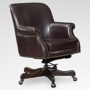 Lazzaro Leather Leather Conference Chair with Arms
