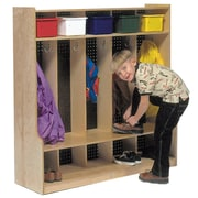 Steffy 5-Section Seat tep Locker