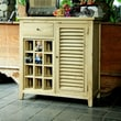 Antique Revival Luther 1 Drawer Shutter Cabinet