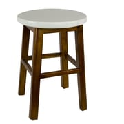 Antique Revival Andy's Stool; White