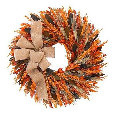 Urban Florals Heartland Spice Wreath; 22'' H x 22'' W x 5'' D