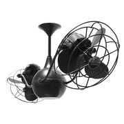 Matthews Fan Company 42'' Vent Bettina 6 Metal Blade Ceiling Fan; Black