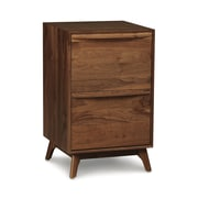 Copeland Furniture Catalina 2-Drawer Narrow File; Conventional Walnut