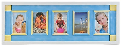 NielsenBainbridge Seaside Collage Picture Frame WYF078277707397