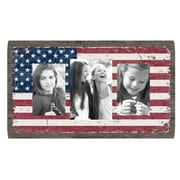 Fetco Home Decor Louisa American Flag Collage Picture Frame