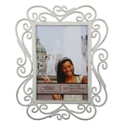 Fetco Home Decor Tallara Scroll Detail Picture Frame