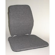 Sacro-Ease Trimet CF Memory Foam Back Cushion; Grey