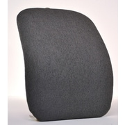 Sacro-Ease Keri Back Chair Cushion; Smoke