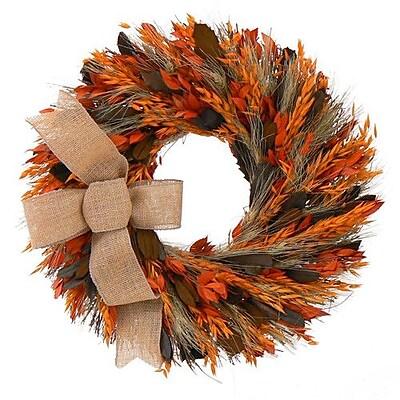 Urban Florals Heartland Spice Wreath; 18'' H x 18'' W x 5'' D
