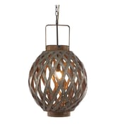 A&B Home Globe 1 Light Pendant; 23'' H x 13.5'' W x 13.5'' D