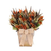 Urban Florals Pheasant Hill Table Top Basket Wreath; 22.5'' H x 23.5'' W x 8'' D