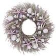 Urban Florals Lavender Beach Wall Frame Wreath