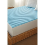 Tempure Rest Cool Memory Foam Topper; Full