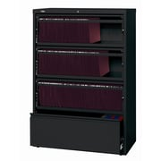 CommClad HL8000 Series Wide Commercial Lateral Files Filing Cabinet; Black