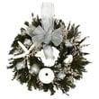 Urban Florals Nautical Christmas Natural Table Top Wreath