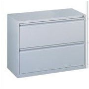 Storlie 2-Drawer  File; Charcoal