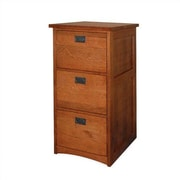 Anthony Lauren Craftsman Home Office 3-Drawer File Cabinet