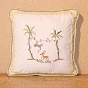 Brandee Danielle African Plains Monkey Decorator Throw Pillow