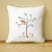 Brandee Danielle African Plains Lion Decorator Throw Pillow