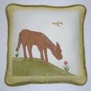 Brandee Danielle Appletree Farm Horse Decorator Throw Pillow