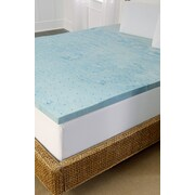 Tempure Rest Marbleized Gel 2'' Topper; Queen