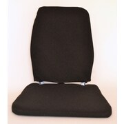 Sacro-Ease Trimet CF Memory Foam Back Cushion; Black