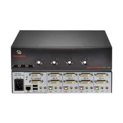 Avocent® SwitchView Dual-Head Dual-Link DVI USB KVM Switch, 4 Port (4SVDVI30BND1-001)