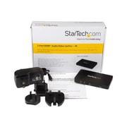 StarTech 2-Port HDMI 4K Video Splitter With Solid Aluminum Housing-4K 30Hz, Black