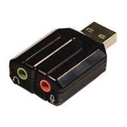 dnpSyba™ USB 2.0 to Mini-Phone Stereo Audio Adapter