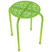 Atlantic Daisy Design Metal Stool, 2 Pk (lime Green)