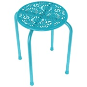 Atlantic Daisy Design Metal Stool, 2 Pk (capri Breeze)