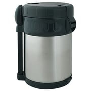Brentwood 2.0 Liter Vacuum Flask With Food Compartment, Stainless Steel