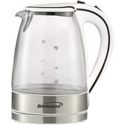 Brentwood Glass Electric Kettle, 1.7 Liter