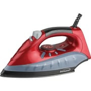 Brentwood Non-stick Steam/dry, Spray Iron (red)