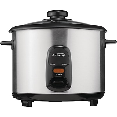 Brentwood Stainless Steel 10-cup Rice Cooker 1642673