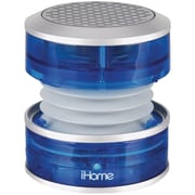 iHome iM60LT Portable Rechargeable Mini Speaker, Translucent Blue