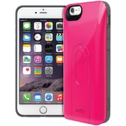 "iLuv iPhone 6 4.7"" Selfy Dual Layer Case With Bluetooth Remote Shutter (pink)"