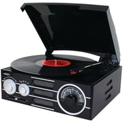 Jensen 3-Speed Stereo Turntable with AM/FM Stereo Radio (JENJTA300)