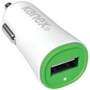 KANEX 2.4amp V2 Green USB Car Charger (KANA1PT24V2GN)