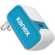 Kanex 2.4A V2 USB Blue Wall Charger (KANCU24V2BL)